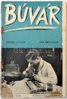 1935 Búvár. I. évfolyam, 1. szám. Szerk.: Lambrecht Kálmán, kiadói papírkötés, kissé viseltes, szakadozott állapotban.