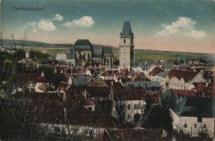 Perchtoldsdorf, Pfarrkirche, Türkenturm / general view, church, tower (ázott sarok / wet corner)