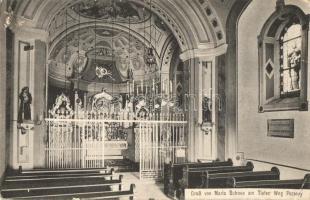 Pozsony, Pressburg, Bratislava; Maria Schnee / Havasboldogasszony templom, belső, Anitta kiadás / church interior (EK)