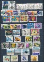 Svájc 1975-2008 27 db klf komplett kiadás + 2 db összefüggés variáció A4-es berakólapon (Mi EUR 143,20)