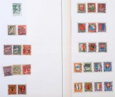 Svájc 1913-1999 Pro Juventute, Pro Patria és Pro Aero gyűjtemény 32 db albumlapon + 1 db berakólapon