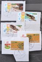 55 db megszemélyesített bélyeg 6 lapos közepes berakóban