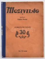 1938 Mozivilág. Jubileumi szám, Szerk.: Endrei Ferenc, Átkötött kartonált papírkötés, kissé kopottas papírborítóval, 96 p.