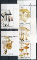 1991 Gomba ívsarki sor Mi 1260-1264