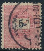 1899 5kr 11 1/2 fogazással (5.000)