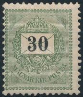 1889 30kr ,,E (6.500)