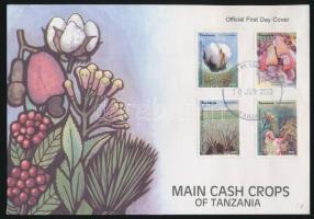 2003 Haszon növények - Virág sor Mi 4093-4096 FDC