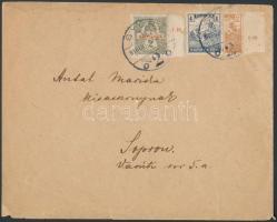 1918 Felezett Arató 2f levélen