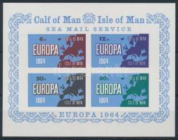 Calf of Man 1964 Európa vágott blokk