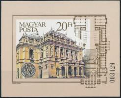 1984 100 éves az Operaház vágott blokk (5.000)