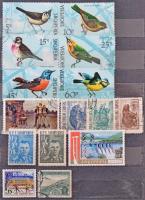 Albánia 178 db klf bélyeg + Europa CEPT 200 db bélyeg, közte pár 8 lapos közepes berakóban