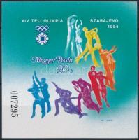 1983 Téli olimpia (VII.) vágott blokk (3.500)