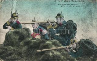 Ich hatt einen Kameraden... / WWI K.u.K. military troops in combat, traditional army lament (EK)