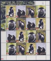 2004 WWF majmok Mi 1745-1748 kisív