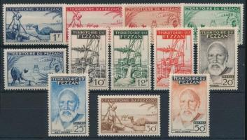 1951 Mezőgazdaság sor Mi 44-55