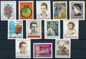 1980 12 klf vágott bélyeg (12.200)
