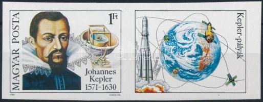 1980 Johannes Kepler vágott szelvényes bélyeg (3.000)
