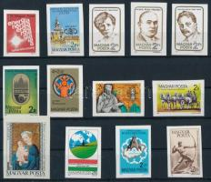 1984 13 klf vágott bélyeg (15.600)