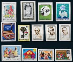 1985 13 klf vágott bélyeg (15.400)