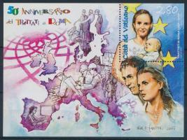 2007 50 éves a Római Szerződés blokk Mi 30