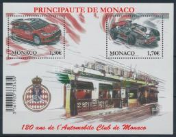 2009 120 éves az autó klub blokk Mi 95