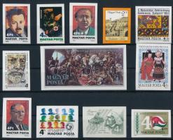 1986 12 klf vágott bélyeg (15.900)