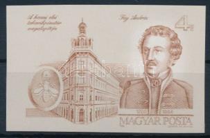 1986 Fáy András vágott szelvényes bélyeg (3.000)