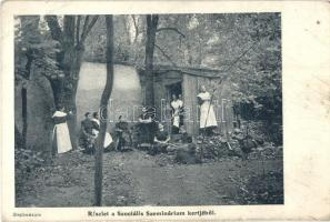 Kolozsvár, Cluj; Szociális Szeminárium kertje; a Stephaneum kiadása / religious social seminary, garden (EK)
