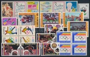 Olimpia motívum 46 klf bélyeg és 1 blokk