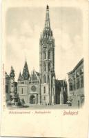 Budapest I. Mátyás templom Emb.