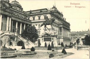 Budapest I. Várkert, Jenő főherceg szobor, Taussig A. kiadása