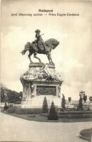Budapest I. Várkert, Jenő főherceg szobor, M. T. és F. V. Koch és Pór kiadása