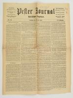 1869 Pester Journal, Politisches Tageblatt III. Jahrgang Nr. 133., 4p