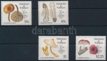 1990 Gomba, bélyegkiállítás sor Mi 592-595