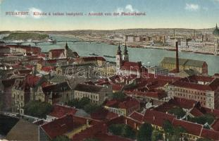 Budapest, kilátás a Halászbástyáról (EK)