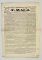1866 A Hungaria című újság II. évfolyamának 85. száma