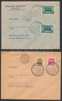 14 db VISSZATÉRT levél, levelezőlap, képeslap