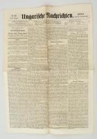 1864 Az Ungarische Nachrichten III. évfolyamának 199. száma