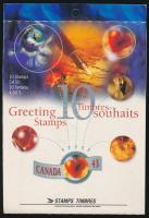 1994 Üdvözlő bélyegek bélyegfüzet Mi H-Blatt 0-177 (1401-1402)