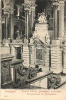 Budapest V. Igazságügyi Palota, lépcsőház, belső, Taussig A. kiadása