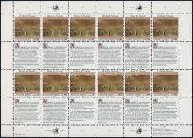 1992 Emberi jogok nyilatkozata kisív sor Mi 223-224