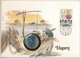 1980. 10Ft borítékban 800 éves a zirci apátság bélyeggel T:1-