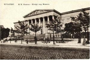 Budapest VIII. Magyar Nemzeti Múzeum (EK)