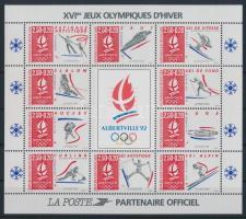 1992 Téli olimpia blokk Mi 12