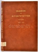 Díjasok és kitüntetettek adattára 1948-1980. Kaposvár, 1984, Palmiro Togliatti Megyei Könyvtár. Kiadói műbőr kötés, intézményi bélyegzővel.