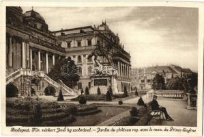 Budapest I. Várkert, Jenő főherceg szobor (EK)