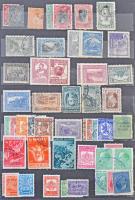 Bulgária, Románia, Jugoszlávia néhány száz bélyeg 6 lapos közepes berakóban