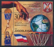 2002 Kosárlabda Vb győztes Jugoszlávia blokk Mi 54