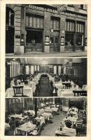 Budapest VIII. József utca 26. Csákódi János éttermei és sörözője, Józsefvárosi polgári étterem, belső (EK)