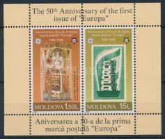 Europa CEPT block, 50 éves az Europa CEPT bélyeg blokk
